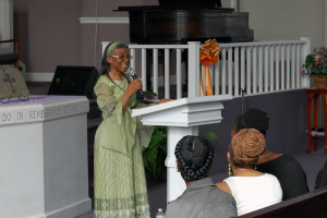 Elect Lady Brown On Praise