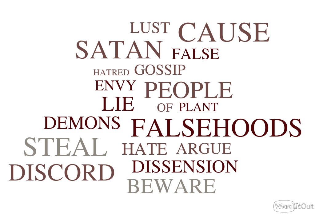 Avoid Those Who Cause Dissensions
