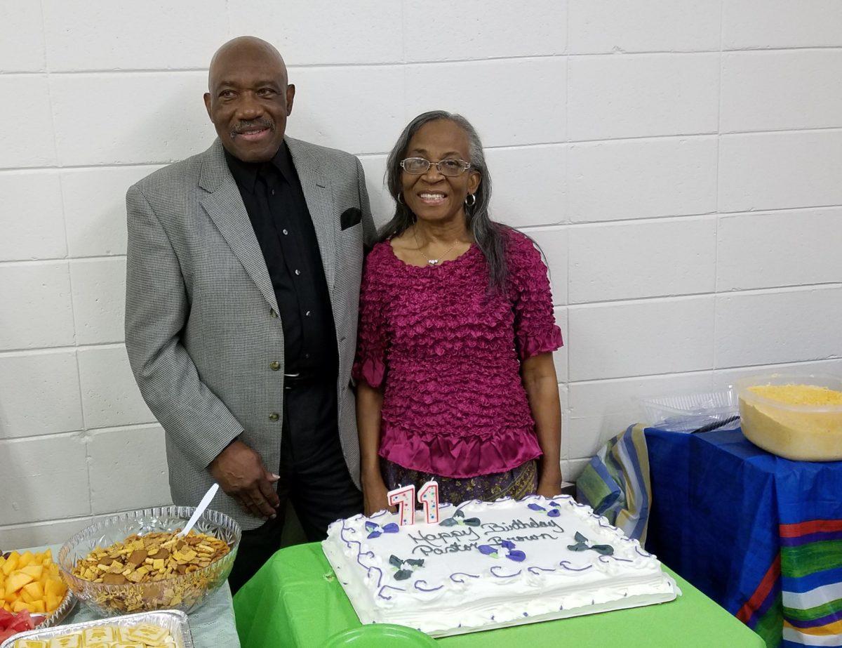 Happy Birthday Pastor Brown!