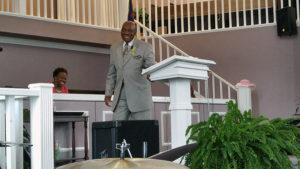 052916 - Pastor Brown preaching