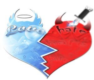 Hate vs. Love