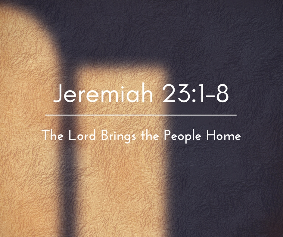 The Lord Brings the People Home