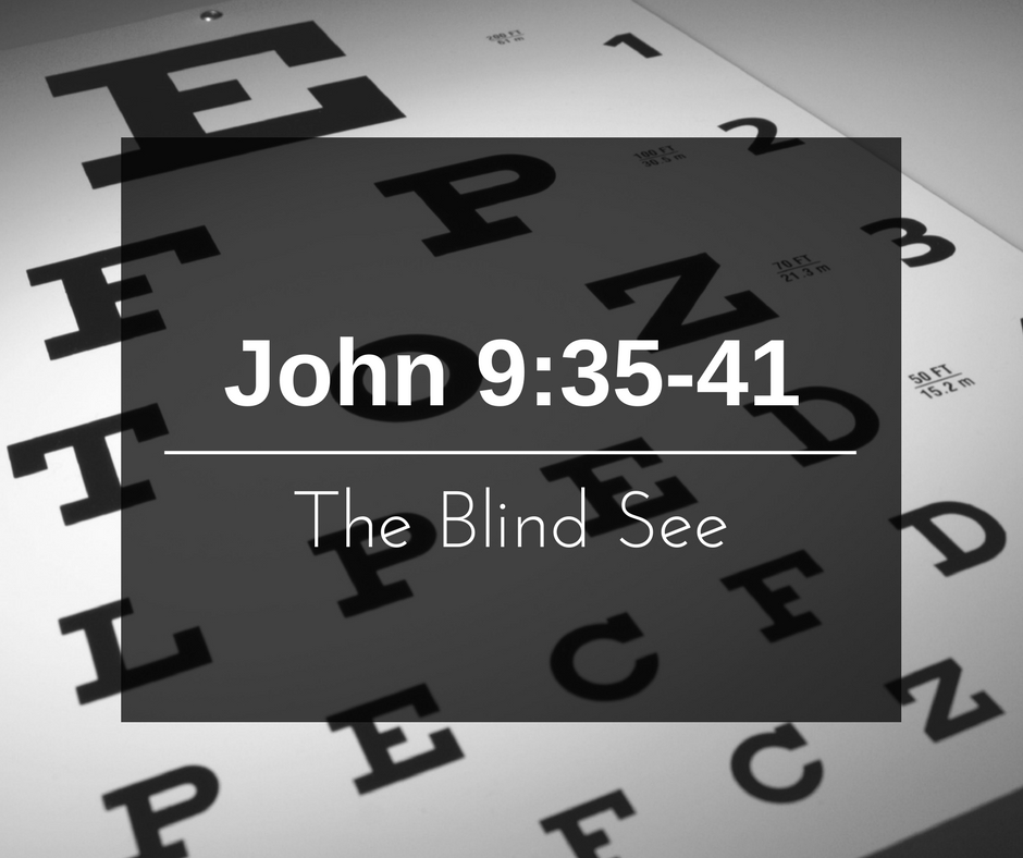 The Blind See