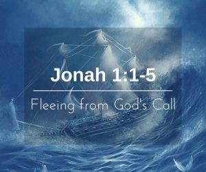 Fleeing from God's Call