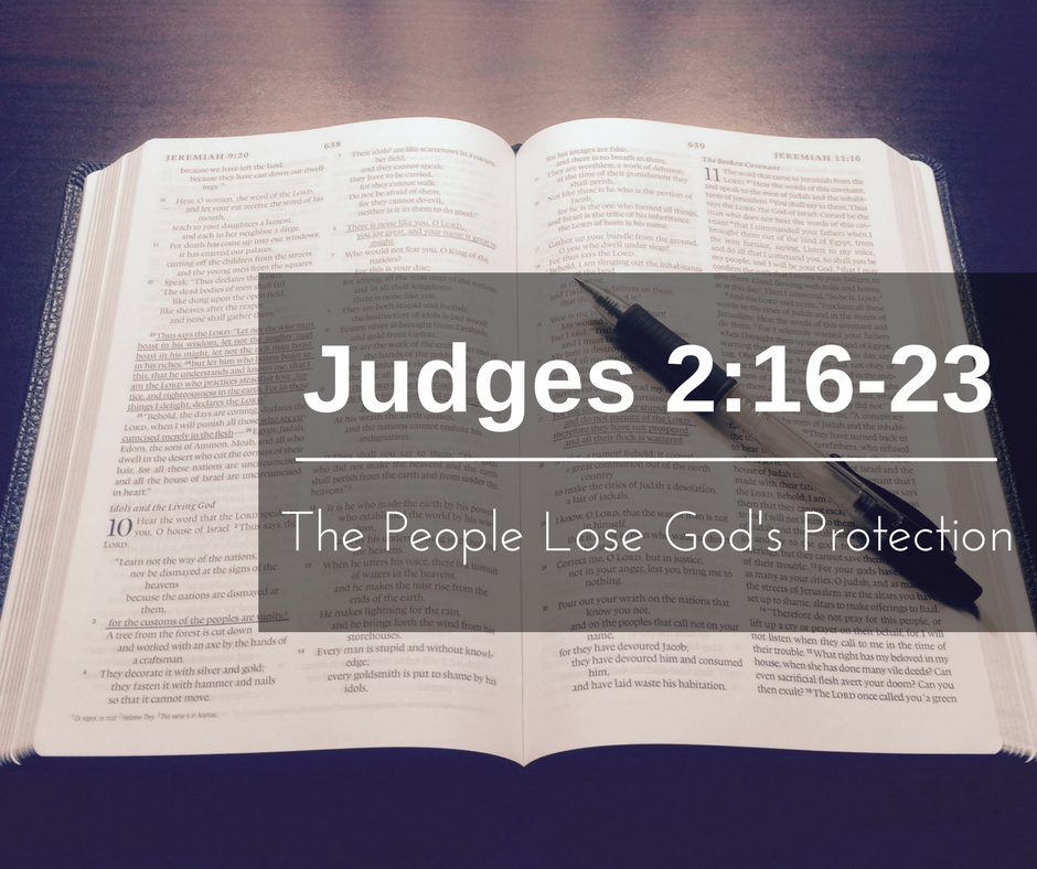 The People Lose God's Protection