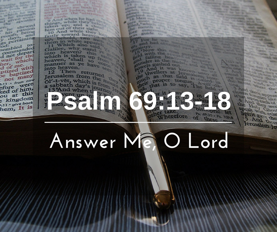 Answer Me, O Lord