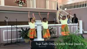 Little Praise Dancers Debut