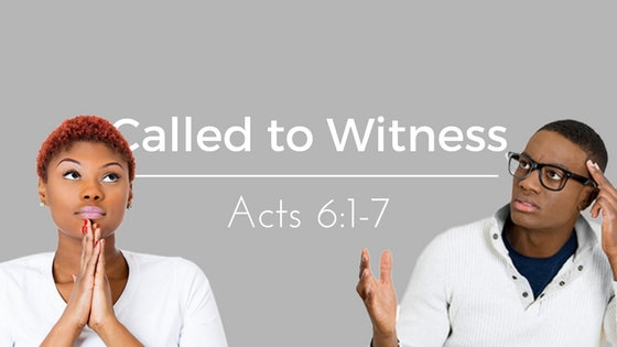 Called to Witness – Weekly Study Guide
