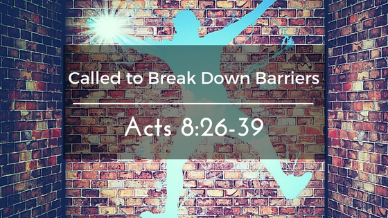 Called to Break Down Barriers – The Weekly Study Guide