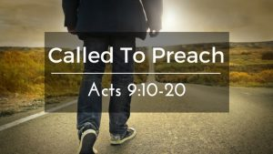 Called To Preach – The Weekly Study Guide
