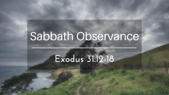 Sabbath Observance – The Weekly Study Guide