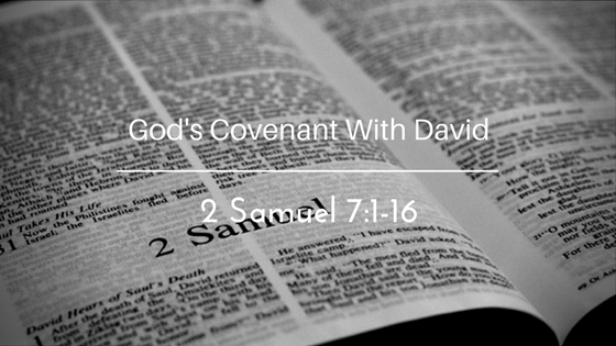 God's Cevenant With David – The Weekly Study Guide
