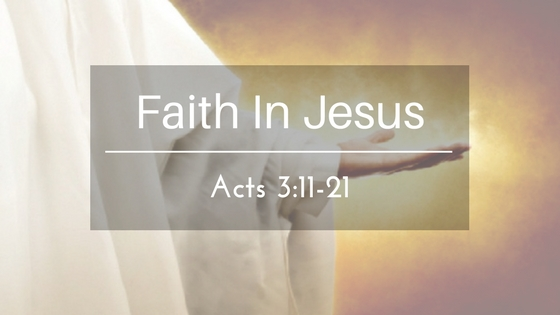 Faith In Jesus – The Weekly Study Guide