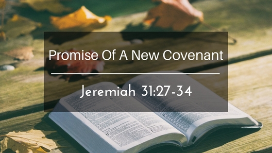 Promise Of A New Covenant
