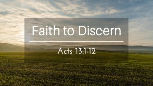 Faith to Discern – The Weekly Study Guide