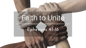 Faith to Unite – The Weekly Study Guide
