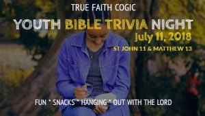 Youth Bible Trivia Night
