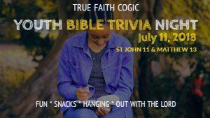 Youth Bible Trivia Night